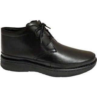 Drew Men's Keith Black Leather