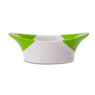 Microplane 48765 Sprout Slicer, White & Green