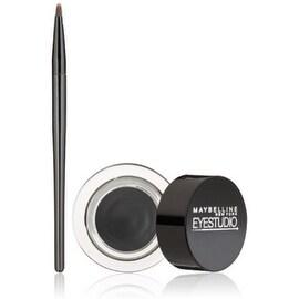 Maybelline New York Eye Studio Lasting Drama Gel Eyeliner, Blackest Black [950], 0.106 oz