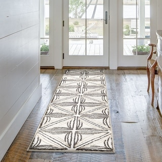 "My Texas House by Orian Agave Natural Runner (2' x 7'6"") - 2' x 7'6"""