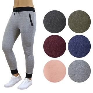 Women's Slim Fit French Terry Jogger Sweatpants