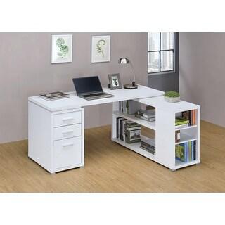 Porch & Den Waterfield Reversible L-shape Office Desk