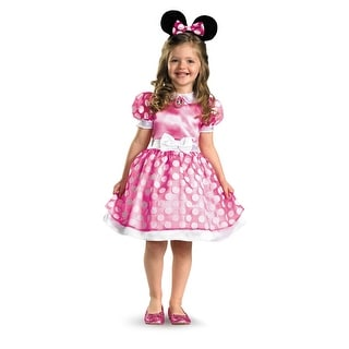 Pink Minnie Mouse Toddler Halloween Costume