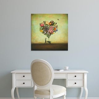 Easy Art Prints Duy Huynh's 'Big Heart Botany' Premium Canvas Art