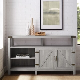 The Gray Barn Firebranch 58-inch Barndoor TV Console
