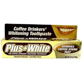 Plus White Coffee Drinkers' Whitening Toothpaste 3.50 oz