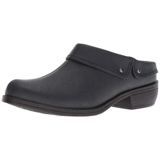 Easy Street Womens Becca Closed Toe Mules