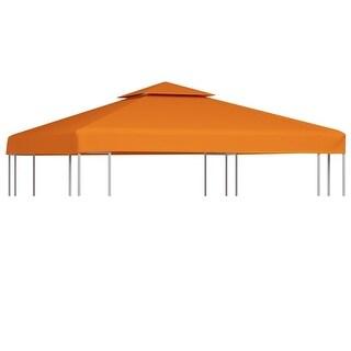 vidaXL Gazebo Canopy Top 10'x10' Terracotta Replacement Cover 2-Tier Outdoor