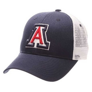 "Zephyr Hats Arizona Wildcats ""A"" Big Rig Hat Cap NCAA College Ball Cap Mesh Back"