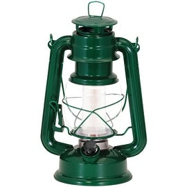 Northpoint 12-Led Vintage Style Lantern (Dark Green)