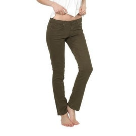 Agave Denim Paloma Urban Suede Skinnies in Beech