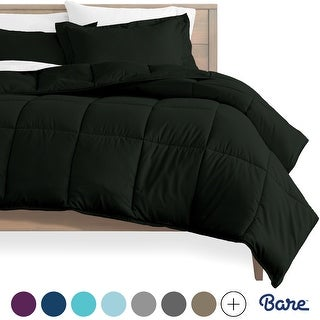 Bare Home Hypoallergenic All-Season Down Alternative Comforter Set