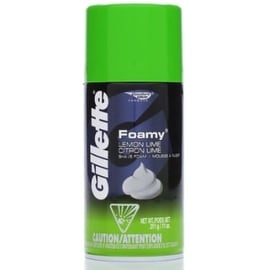 Gillette Foamy Shaving Cream Lemon-Lime 11 oz