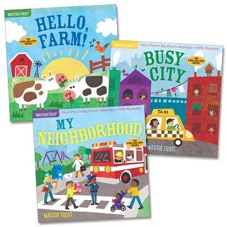 Indestructibles Community Picture Books - Set of 3