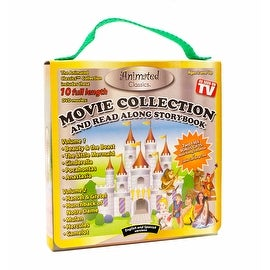 Animated Classics 10 Kids Movies DVD Collection with Book