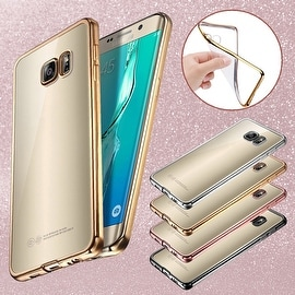 ShockProof Silicone Bumper Clear Slim Case Cover For Samsung Galaxy S7
