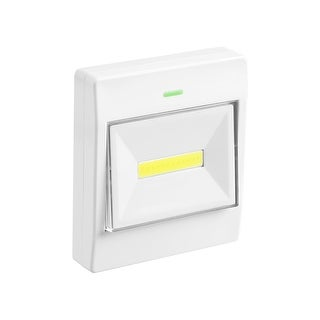1/4 Pack LED Night Light, Battery Operated COB LED Cordless Light Switch