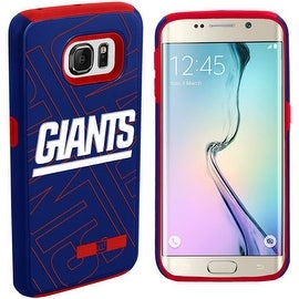 DUAL HYBRID IMPACT CASE FOR SAMSUNG GALAXY S6 EDGE NFL NEW YORK GIANTS