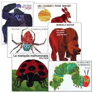 Eric Carle Spanish Books - Set of 6