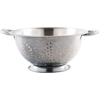 Palais Dinnerware Stainless Steel Colander - Decorative Strainer - Fruit Bowl