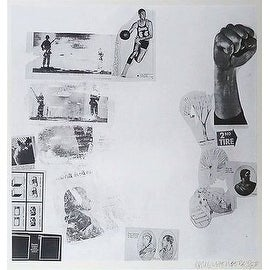 Surface Series, from Currents, Limited Edition, Silk-Screen, Robert Rauschenberg