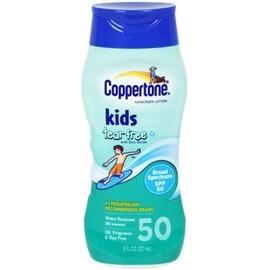Coppertone Kids Pure & Simple Tear Free Sunscreen Lotion SPF 50 8 oz
