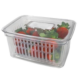 Keep Fresh Small Vegetable Keeper, Clear