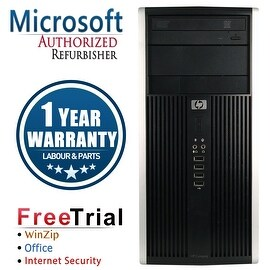 Refurbished HP Compaq 6000 Pro Tower Intel Core 2 Duo E8400 3.0G 4G DDR3 250G DVD Win 10 Pro 1 Year Warranty