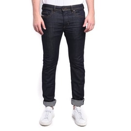 Diesel Thavar Slim-Skinny Stretch Dark Blue Denim Jeans