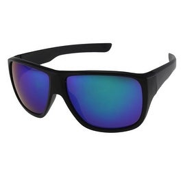 Unisex Sports Style Sunglasses with Mirrored Lenses