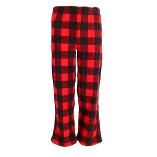 Hanes Boy's Micro Fleece Pajama Lounge Pants