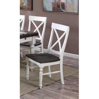 The Gray Barn Crooked Cottage X-back Dining Chair (Set of 2)
