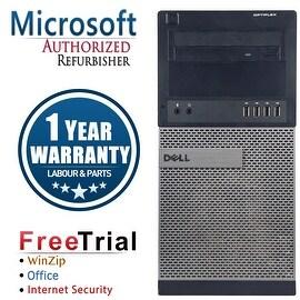 Refurbished Dell OptiPlex 990 Tower Intel Core I7 2600 3.4G 16G DDR3 1TB DVD Win 7 Pro 64 Bits 1 Year Warranty