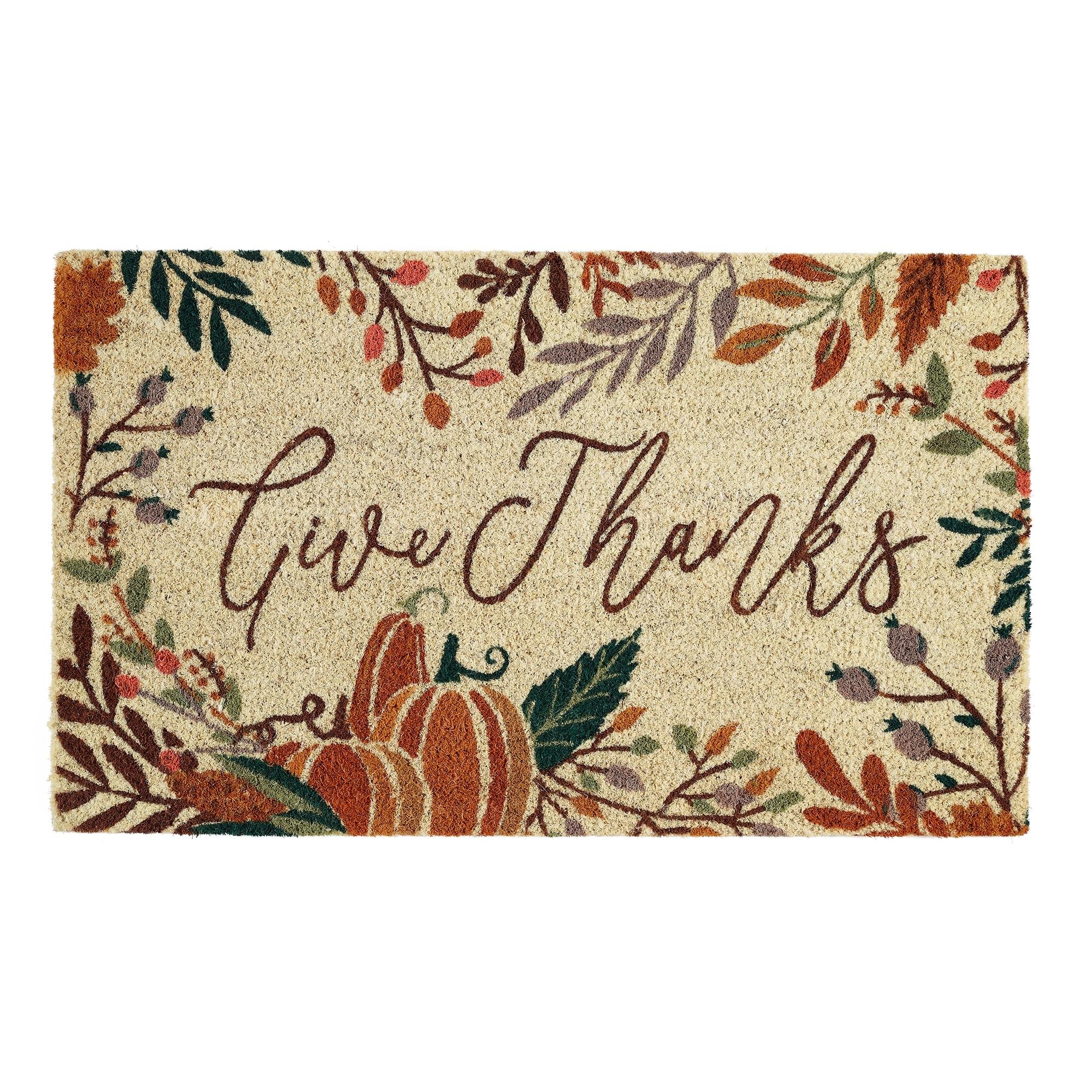 Thanksgiving Doormat