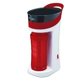 Mr. Coffee BVMC-MLRD Pour Brew Go Personal Coffee Maker