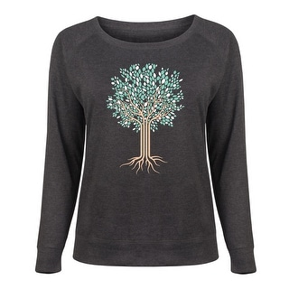 Tree of Life - Women's Plus Slouchy