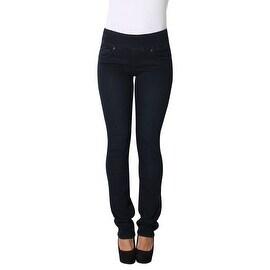 Lola Pull On Straight Jeans, Catherine-OBLU