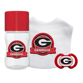 Georgia Bulldogs Baby Gift Set 3 Piece
