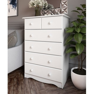 Copper Grove Caddo Solid Wood 6-drawer Chest