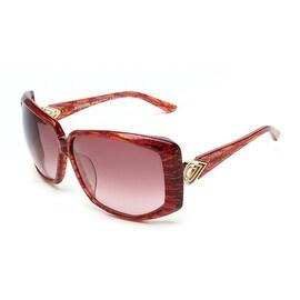 Missoni Oversized Sunglasses Red Orange