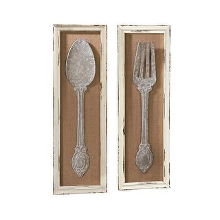 Spoon and Fork Wall Art - 10 x 31.5
