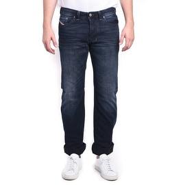 Diesel Larkee Regular Straight 3D Evo Dark Blue Denim Jeans
