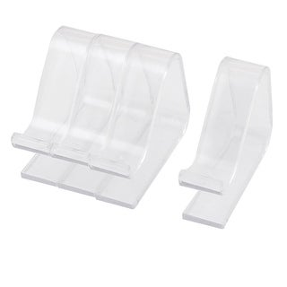 4pcs Picnic Spring Tablecloth Holders Clips Table Cloth Clamp 2-3.5cm Clear