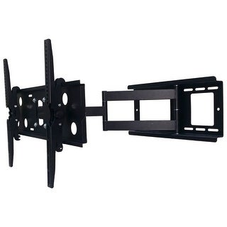 2xhome TV Wall Mount Bracket Secure Cantilever LED LCD Smart 3D Flat Screen Monitor Large Displays Long Single Arm Adjustable