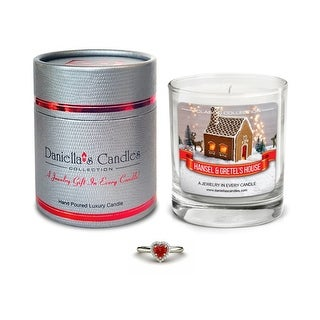Hansel and Gretel's House Jewelry Surprise Candle