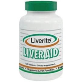 Liverite The Ultimate Liver Aid 120 ea