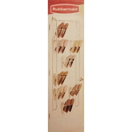 18 Pair over door Shoe Rack by Rubbermaid