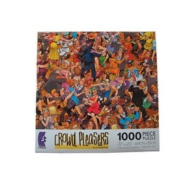 Crowd Pleasers Ballroom Dancing Puzzle 1000 Pieces Jigsaw Puzzle by Jan Van Haasteren