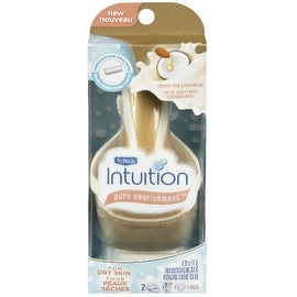 Schick Intuition Pure Nourishment with Coconut Milk & Almond Oil Razor, 1 ea