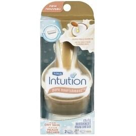 Schick Intuition Pure Nourishment with Coconut Milk & Almond Oil Razor, 1 ea